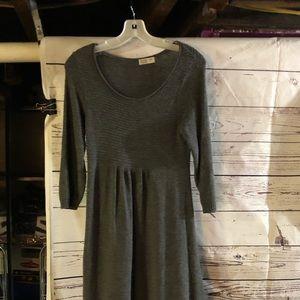 Old Navy Maternity Gray Dress